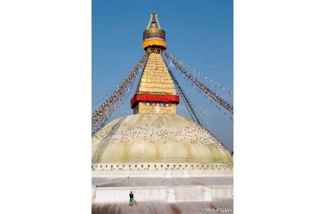 Le grand Stupa à Bodnath