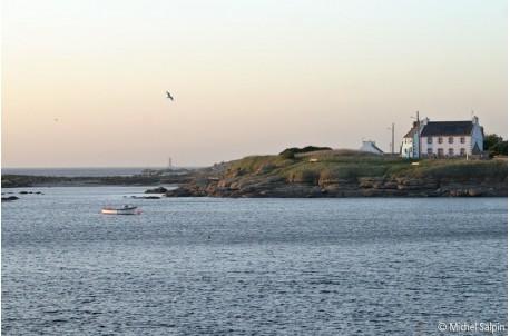 A Lanildut, vue sur la mer et Melon