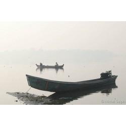 Pêche sur le lac de U-Bein