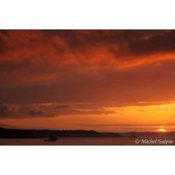 Lever de soleil sur Locmaria-Plouzané