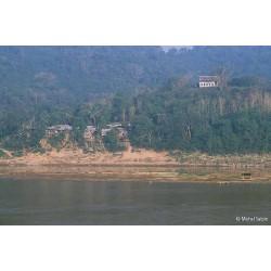 Le village de Ban Xieng Maen, face à Luang Prabang, Laos