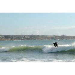 Surf au Trez-Hir à Plougonvelin