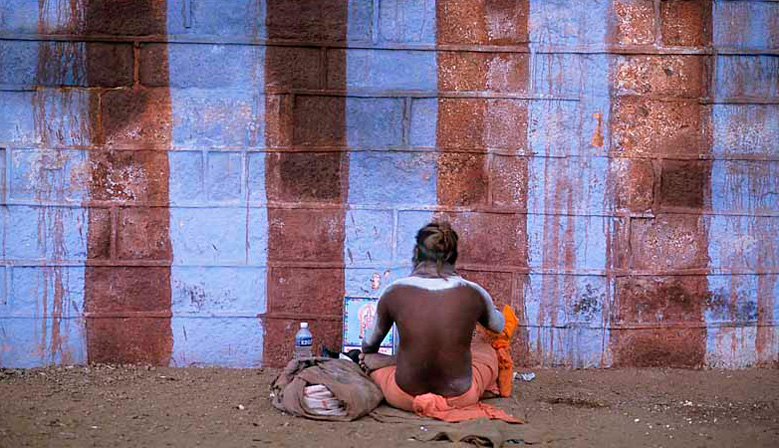 Les photos d'Inde, Ici à Kanyakumari