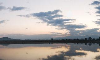 Panorama de Myithkyina en Birmanie