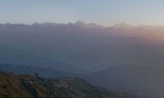 Panorama Nagarkot Népal