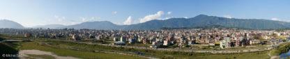 Panorama Katmandou au Népal