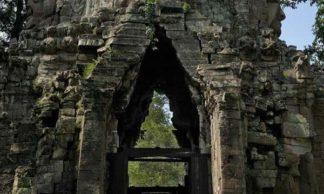 Porte du site archéologique d'angkor