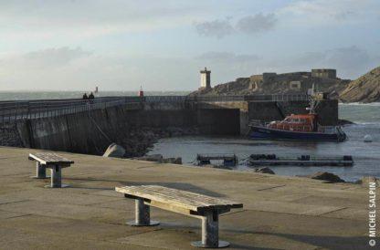 Le Conquet, le port dans le Finistère en Pays d'Iroise