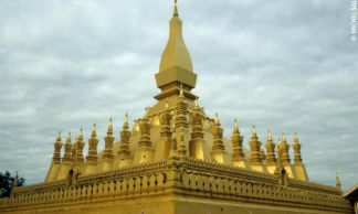Le Pha That Luang - Vientiane - Laos