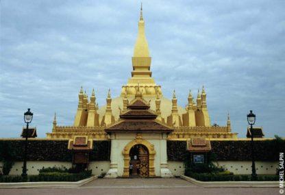Le Pha That Luang à Vientiane - Laos