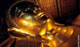 Le Bouddah couché au Wat Pho