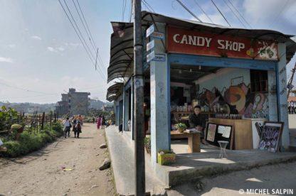 Magasin de bonbons - Katmandou - Népal