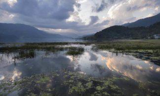 Le lac Phewa Tal - Pokhara - Népal