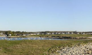 Panorama de Porspaul vue de la côte - Plouarzel