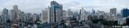 Panorama du quartier Sukhumvit - Bangkok
