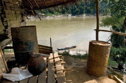Escale entre Sinbo et Bhamo Birmanie