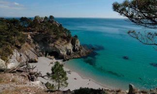 La Plage de l'Ile Vierge Saint-Hernot Crozon