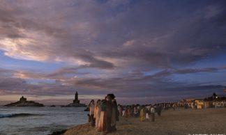 Avant le lever de soleil - Kanyakumari - Inde