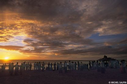 Lever de soleil - Kanyakumari - Inde