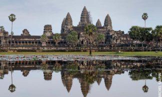Le temple Angkor Wat au Cambodge