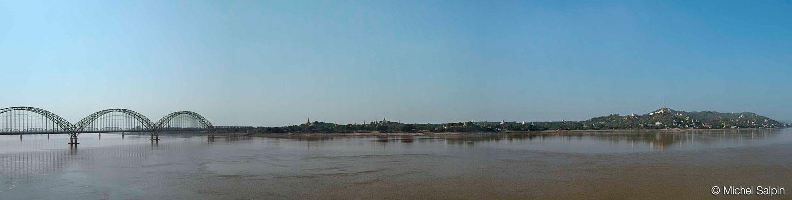 Environs de Mandalay en Birmanie - Myanmar