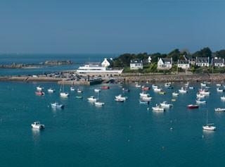 Vue sur Portsall (29) Finistère