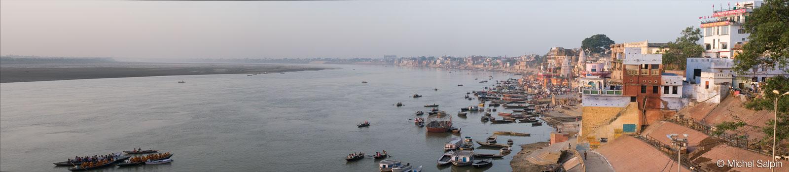 Varanasi au petit matin - Inde