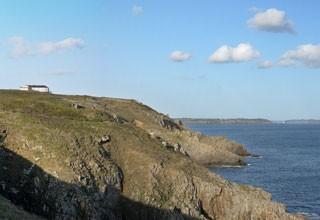 Le sentier côtier à Plougonvelin GR34
