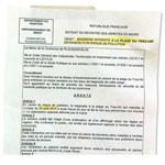 avis de pollution de la plage du Trez-Hir à Plougonvelin