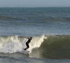Surf et Bodyboard sur la plage du Trez-Hir à Plougonvelin