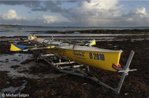Championnat d'Aviron de Mer au Trez-Hir à PLougonvelin
