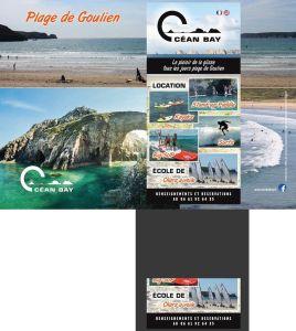 Presentoir Oceanbay 3volets A4