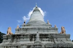Le Wat Phnom - phnom-penh, capitale du Cambodge