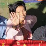 sur le fleuve Irrawaddy