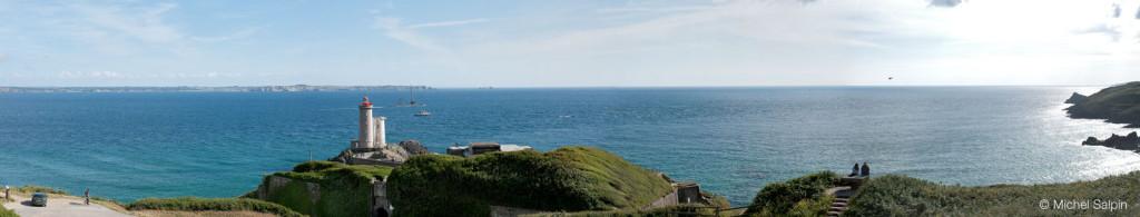 Panorama du Minou à Plouzané